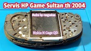 Servis HP Bangkai Nokia N Gage QD usia 16 Tahun