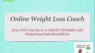 Weight Loss Coach App weightlossclubsworldwide Weight Loss Coach Certification