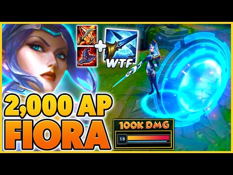 *NEW PULSEFIRE* 2,000+ AP PENTAKILL RAGE (FIORA IS A MAGE NOW) - BunnyFuFuu | League of Legends