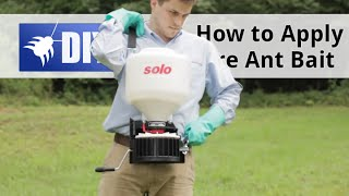 How to Apply Fire Ant Bait
