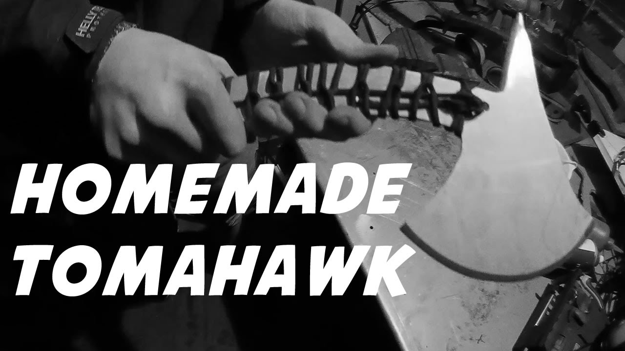 How To Make A Tomahawk Throwing Axe Youtube