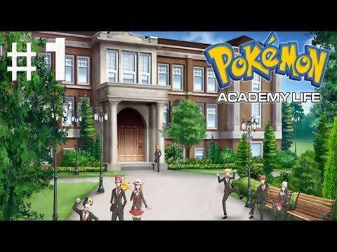 Pokemon Academy Life DEMO #1 - Bine ati venit la academia Kobucan! :D