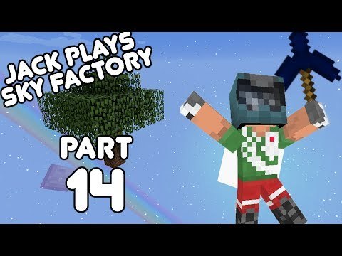 Let's play with lasers! Jack plays Sky Factory Part 14! (August 9th, 2017)