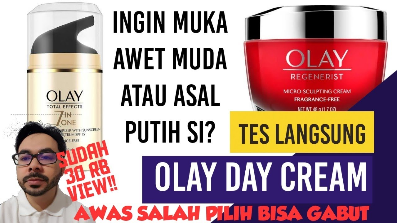 Olay 7 Effects Day Cream Cocok Untuk Wajah Berjerawat