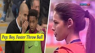 Ball Boys • Help Players Save Penalty, Scored Goals