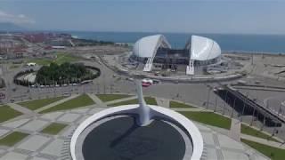 видео Олимпийский парк в Сочи