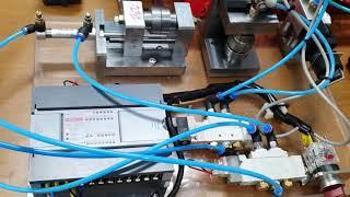 [전자기계과 1팀1기업프로젝트] PLC제어 공유압기 제…