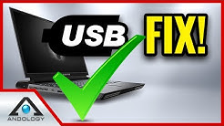✅ HOW TO FIX USB [? Area 51m] Fix USB Keeps Disconnecting -  Fix USB Port Cutting Out (Windows 10)