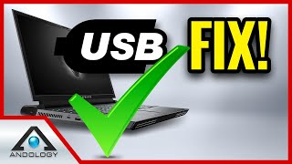 ✅ HOW TO FIX USB [👽 Area 51m] Fix USB Keeps Disconnecting -  Fix USB Port Cutting Out (Windows 10)