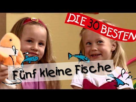 Kinderlieder: Fünf kleine Fische - Singen, Tanzen und Bewegen    Kinderlieder