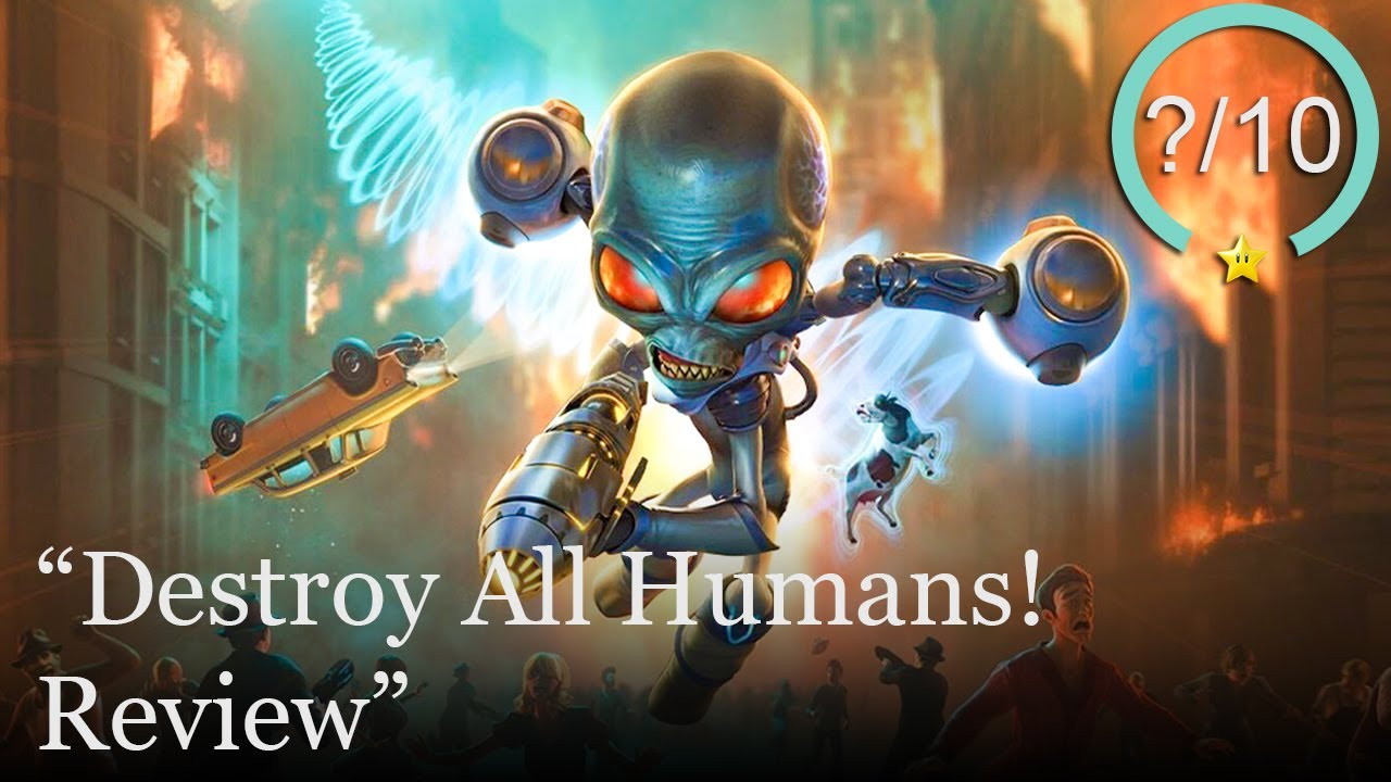 Destroy All Humans! Remake Review [PS4, Xbox One, Stadia, & PC] (Video Game Video Review)