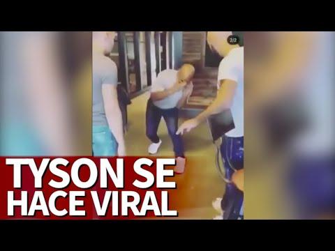 El vídeo viral de Tyson: a sus 53 años se muestra en plena forma