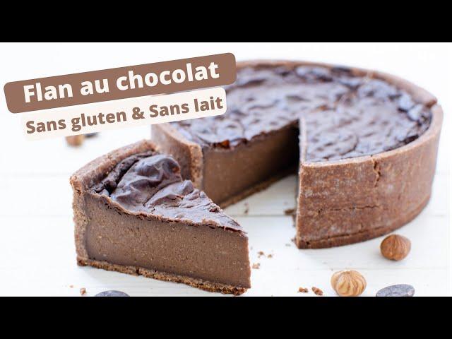 🍰 RECETTE DE FLAN AU CHOCOLAT SANS GLUTEN 🍰