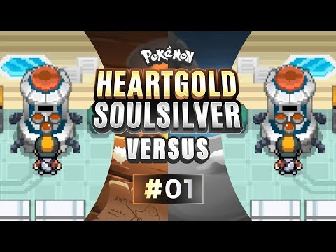 Pokemon HeartGold and SoulSilver Versus - EP01   A Mythical Start!
