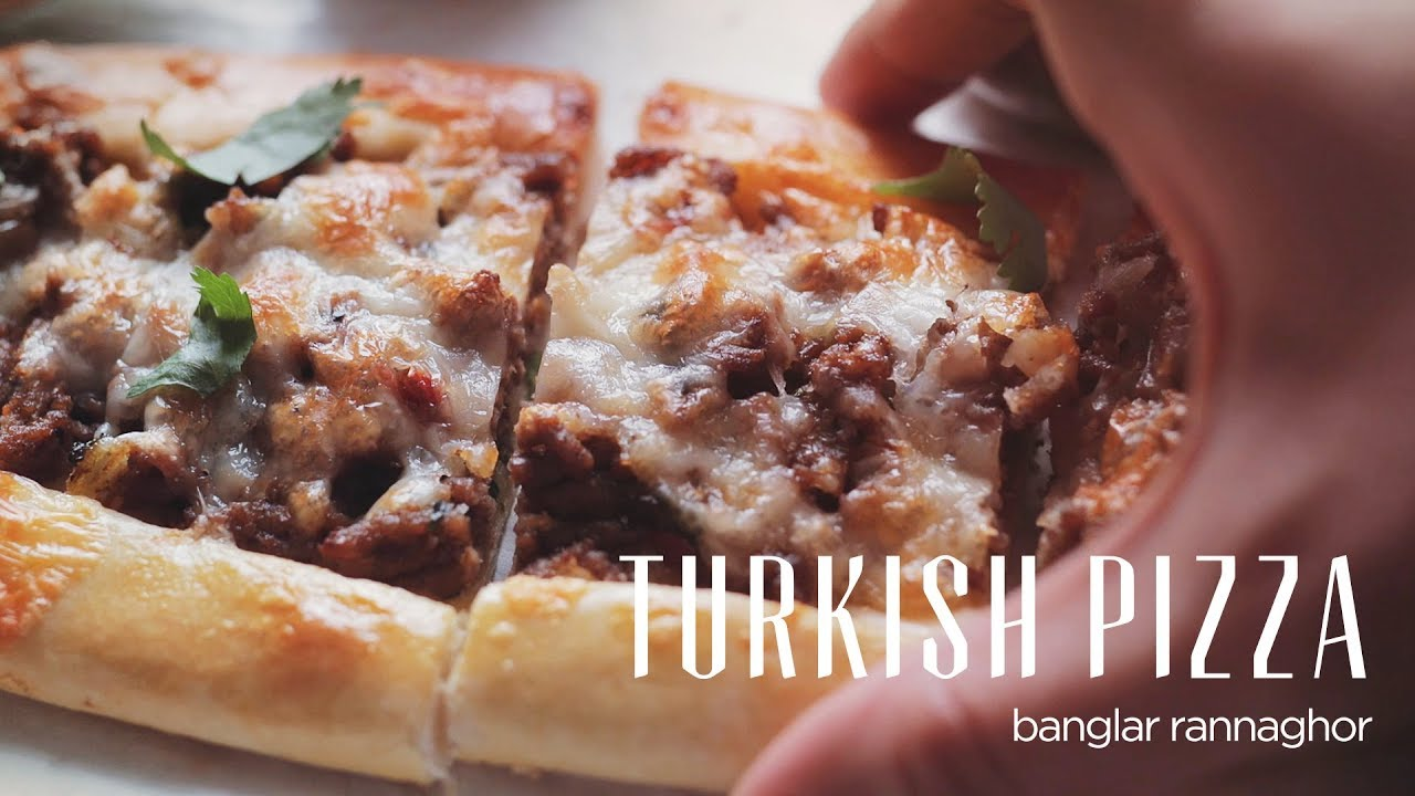 Turkish Pizza ( Pide )
