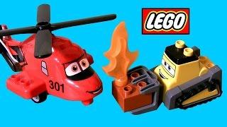 Lego Duplo Planes Fire And Rescue Team 10538 Disney Preschool Building Toy - Drip Blade Ranger