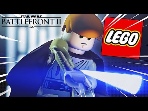 Star Wars Battlefront 2 But With LEGO MODS