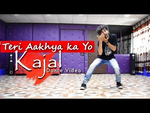 Teri Aakhya Ka Yo Kajal Dance Video | Super Hit Song | Cover by Ajay Poptron