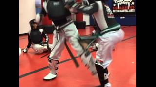 Children and Kids Kickboxing Class in Stamford,Ct Fairfield County at Tiger Schulmann