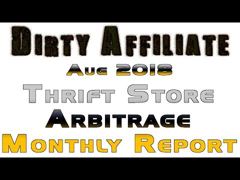 What Sold on eBay August 2018 Yard Sale Arbitrage Report Dir