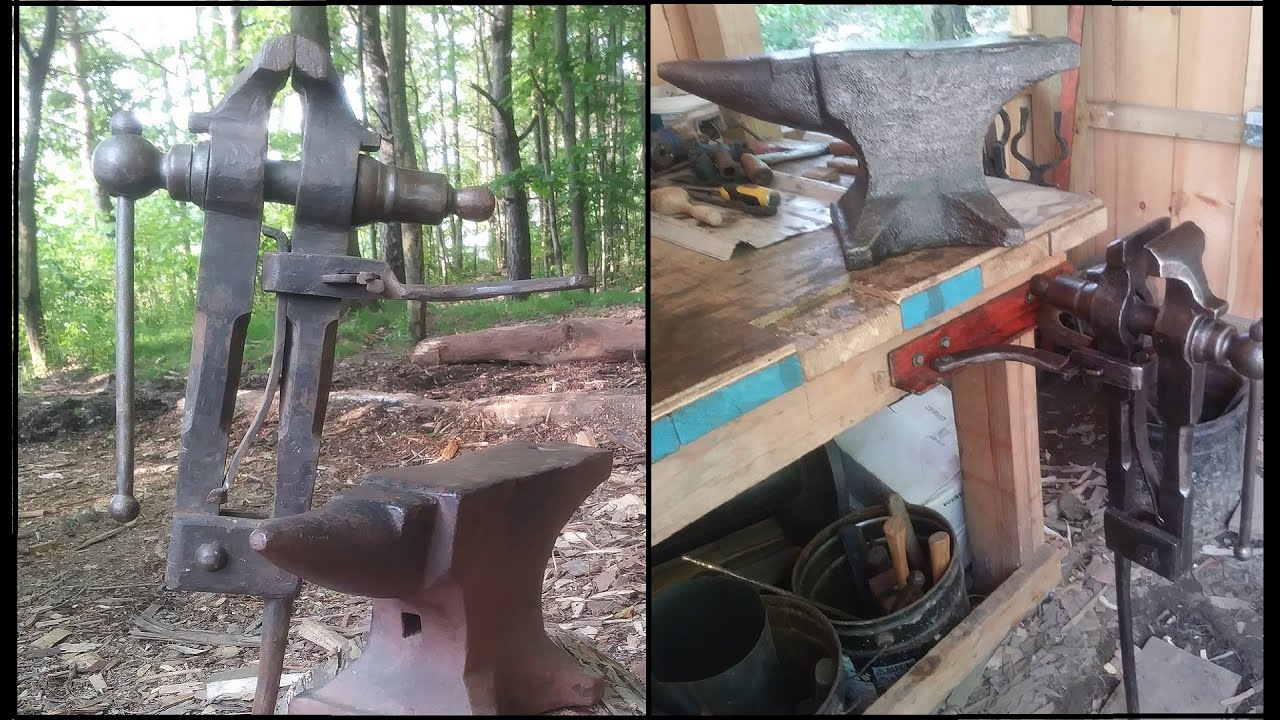 Cleaning/Restoring an Old Anvil and Post Vice