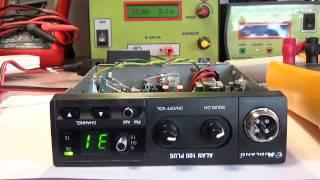 CB-radio Alan 100 Plus. Naprawa po 24V