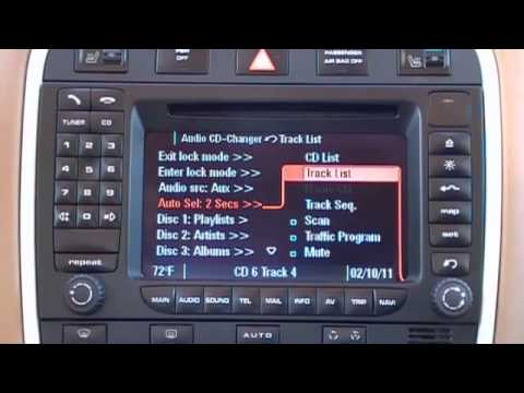 Auto Selecting on PCM radio in a Porsche fitted with mObridge iPod kit