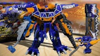 파워레인저 다이노포스 토바스피노 스피노킹 공룡 장난감 동영상 獣電戦隊キョウリュウジャー power ranger dino force