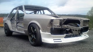 The Mad 2000hp Koenigsegg CCX V8 Powered Ford Granada Build Project