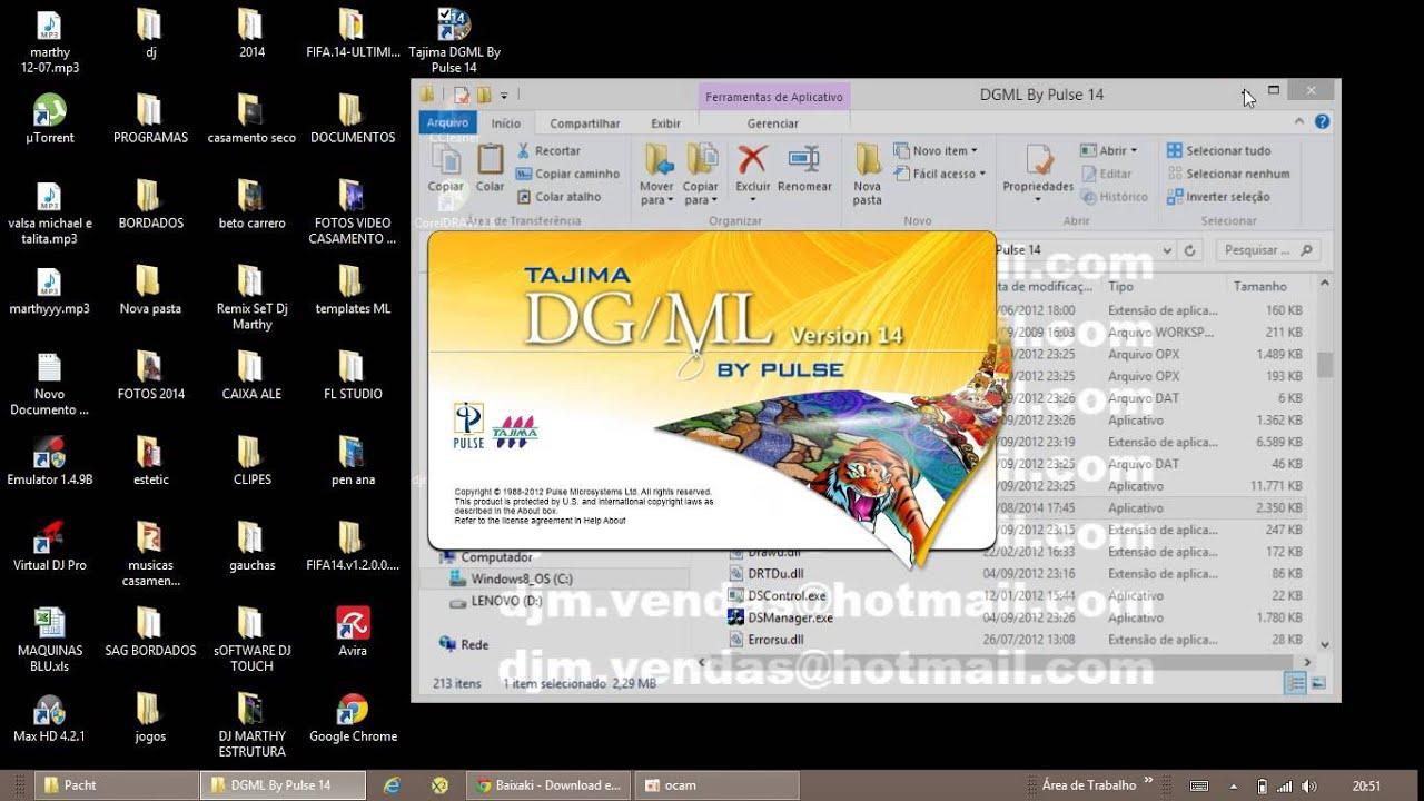 tajima dgml by pulse 15 free download