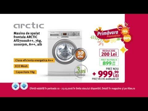 Reclamă ALTEX Masina de spalat ARCTIC - martie 2016