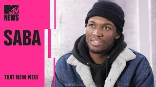 Saba on Chance the Rapper, Pivot Gang & His New Album 'Care For Me'   THAT NEW NEW   MTV News