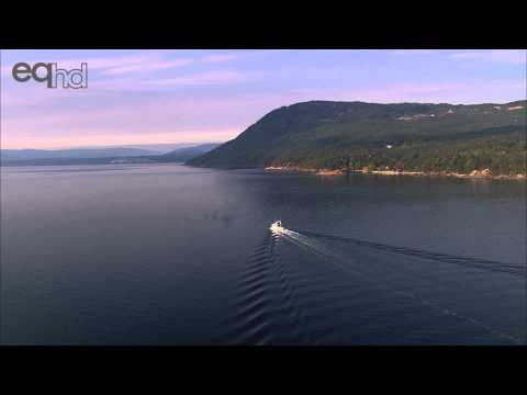 Sidney Island and Salt Spring Island