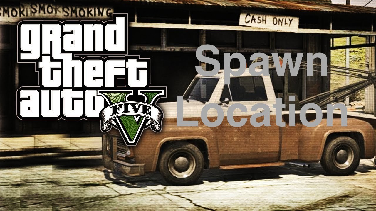 GTA 5: Tow Truck Spawn Location!! (PS4,XBOX ONE,PS3,XBOX 360)