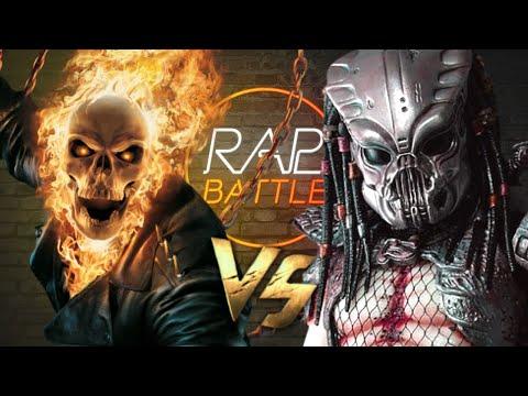 Рэп Баттл - Призрачный Гонщик Vs. Хищник (Ghost Rider Vs. Alien Predator)