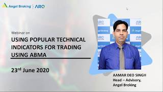 Using popular Technical Indicators for trading using the Angel Broking Mobile App | Webinar