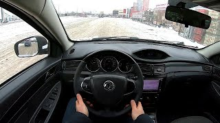 2015 Dongfeng H30 Cross 1.6L (117) POV TEST Drive