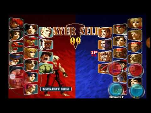 Download - SNK VS. CAPCOM - SVC Chaos Plus Edition On Android Play Mame4droid Emulator Inside