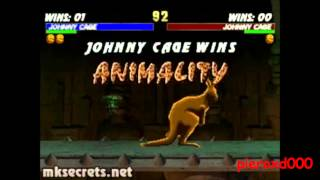 MK1-MK9: Johnny Cage Fatalities