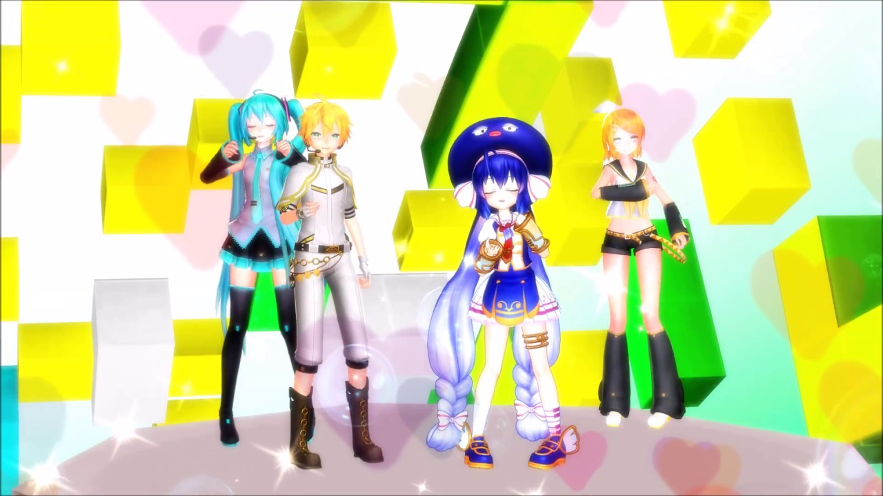 MMD Oliver vocaloid [the Lost Ones Weeping] +dl links