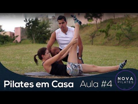 Pilates em Casa - Aula Nº4 - NÍVEL INICIANTE