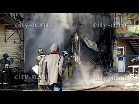 В Новокузнецке СТО сгорела вместе с машинами