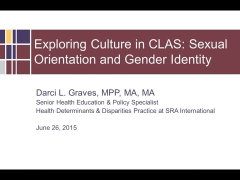 Exploring Culture in CLAS: Sexual Orientation and Gender Indentity