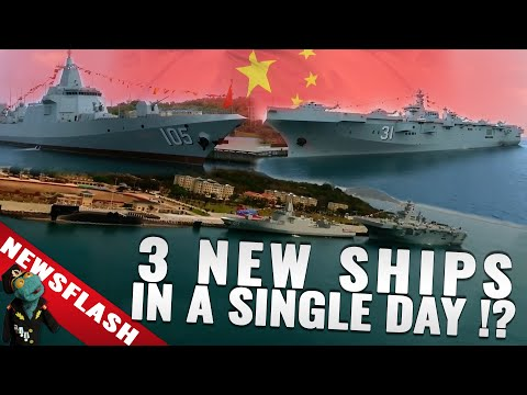 New threat to the US? China's navy in overdrive. (Newsflash)
