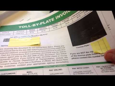 Toll-By-Plate A New Scam From the State of Florida