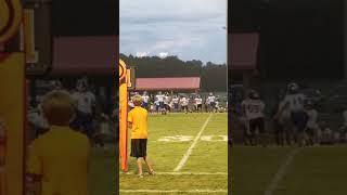 9 year old Alabama sweep right quarterback keeper