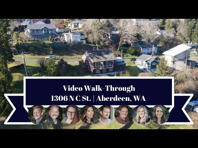 1306 N C St | Aberdeen, WA | Video Walk-Through