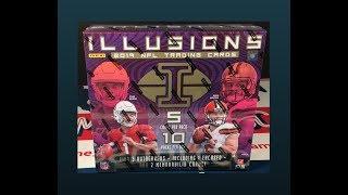 Gambar cover 2019 Panini Illusions Football Hobby Box Break - 3 Autos/2 Memorabilia