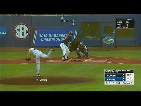 NCAA Baseball Gainesville Super Regional Game 3 Auburn Vs Florida 1