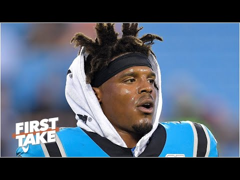 First Take reacts to the Panthers releasing Cam Newton